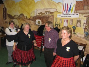 2012 bei Duke Town Promenaders