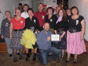 die 11 Tänzer aus Dingolfing