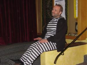 Häftling Frank hat Ausgang