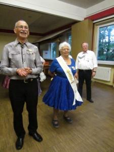 Richard mit Ehrengast Edith