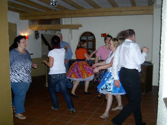 auch Callerin Anita tanzt mit
