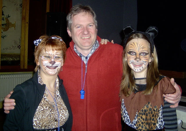 Tine, Edzard und Sarah
