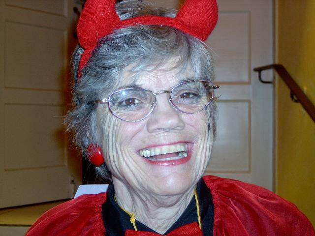 Margarete als Teufel