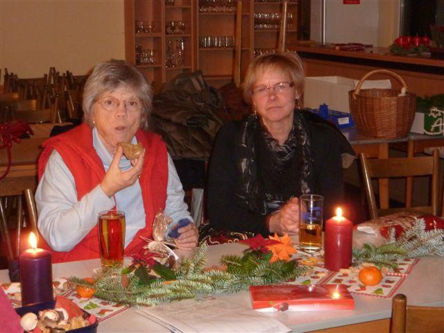 Weihnachten 2010 - Margarete und Sissi