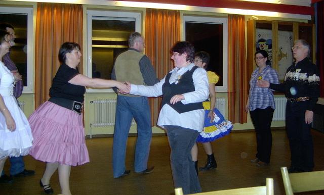... auch 2 Tänzer von den Yukon Tramps
