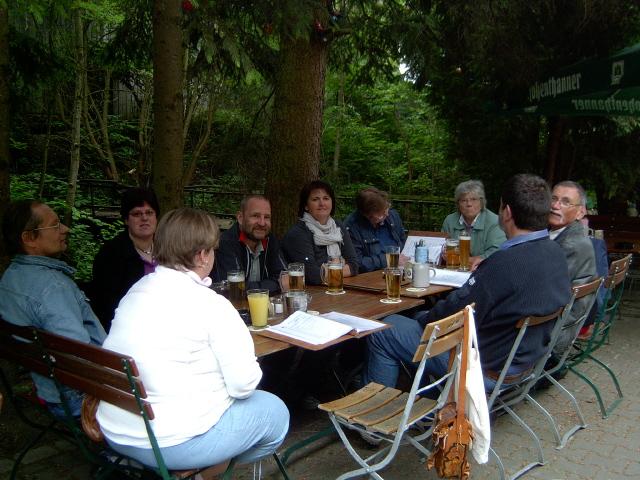 Treffen in der Alten Mühle in Mamming
