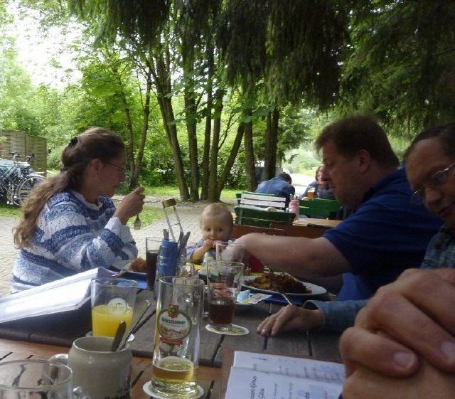 Waltraud, Sonja und Hein