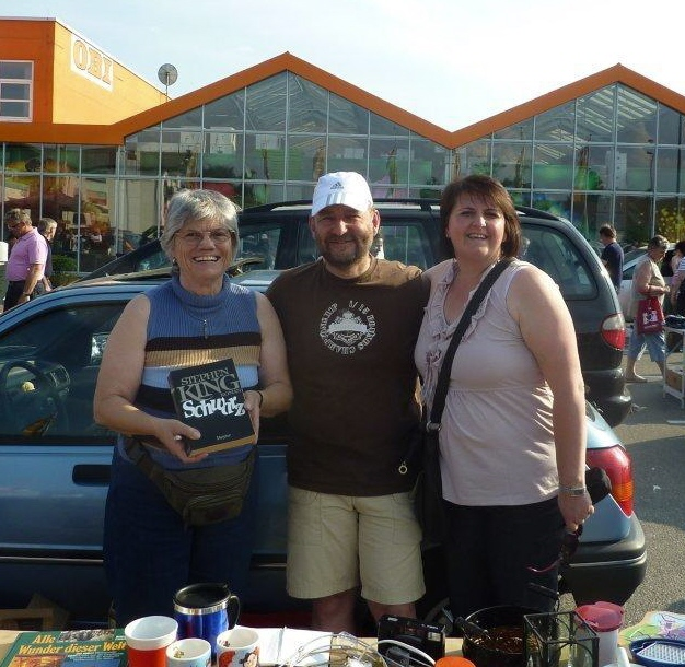 Flohmarkt-Team Margarete, Frank & Michaela